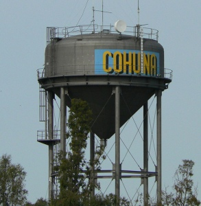 Cohuna water tower