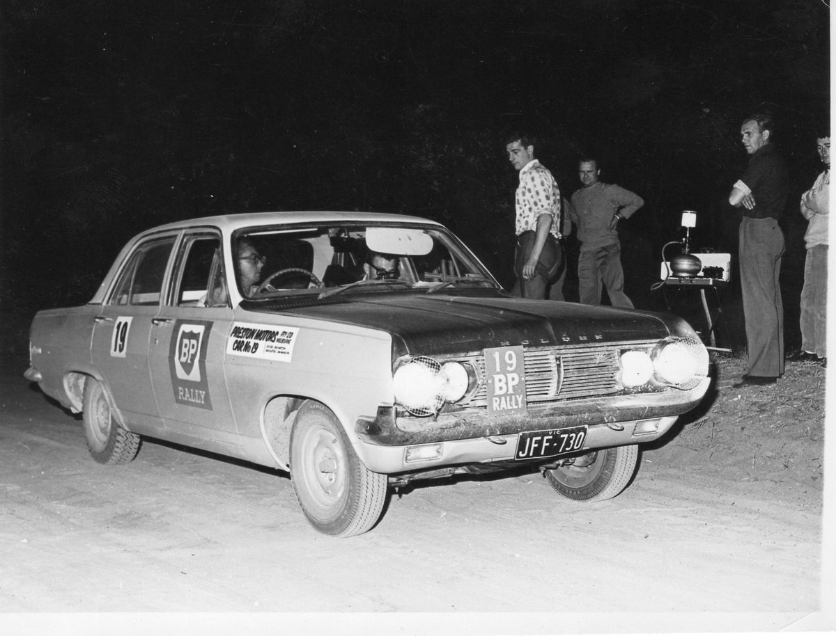 1966 BP Rally. Bob Watson and Jim McAuliffe.