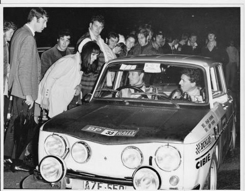 1971 BP Rally - Roger Bonhomme and Geoff Thomas