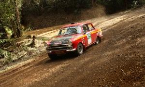 Ted Perkins / Gerry Bashford, Lotus Cortina. Pic by John Doutch