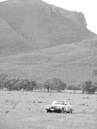 HRA competitor in the Grampians