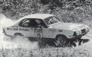 Pic of Matt Phillip and Roger Bonhomme in the Mollisons Motors Torana.
