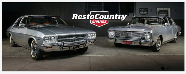 RestoCountry Spares - Holden & Ford Rebuild essentials