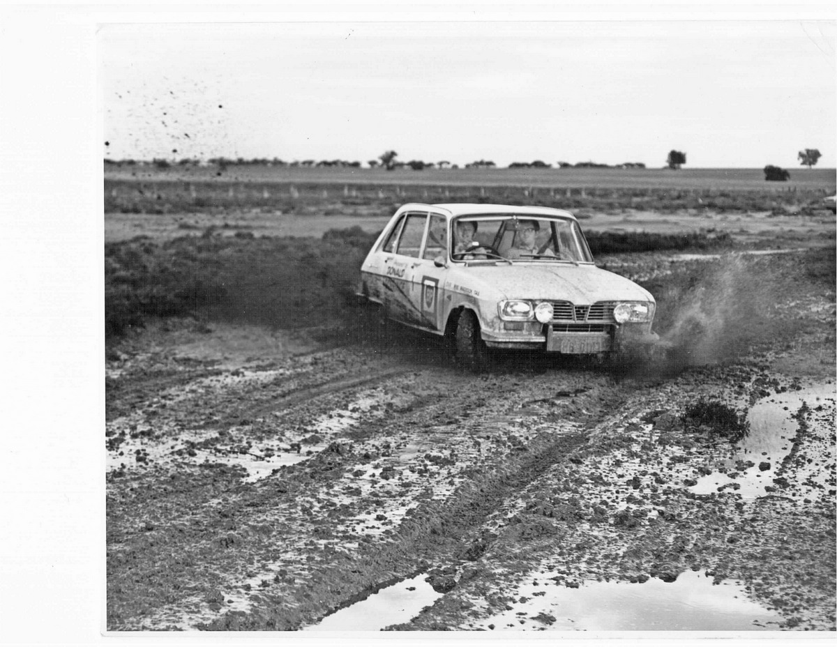 1970 BP Rally, Maddock and Kelly near Sea Lake