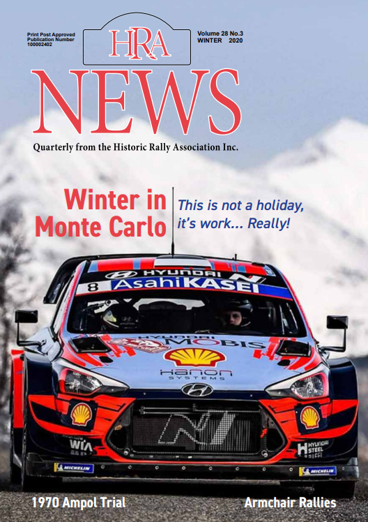 Cover of the winter issue of HRA News