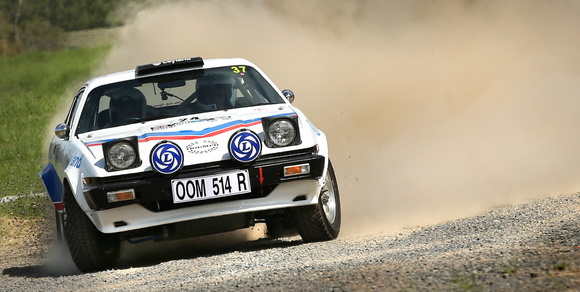 Trimph TR7 at Rally Retro Festival
