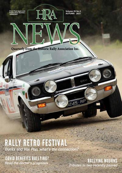 Cover of Autumn HRA News