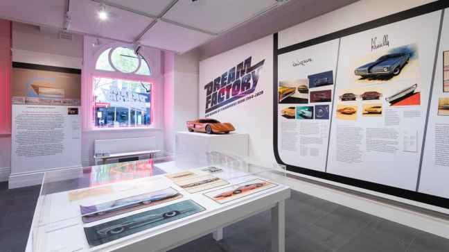 The Dream Factory display